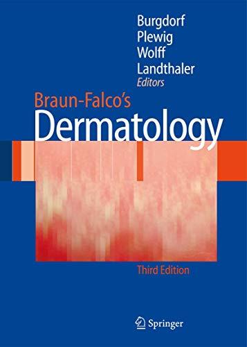 9783540293125: Braun-Falco´s Dermatology