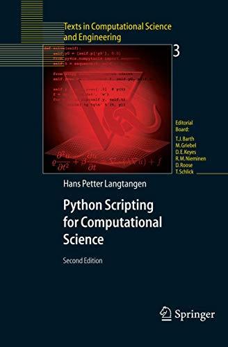 9783540294153: Python Scripting for Computational