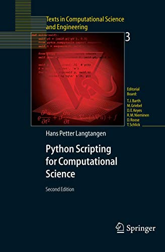 9783540294153: Python Scripting for Computational Science (Texts in Computational Science and Engineering)