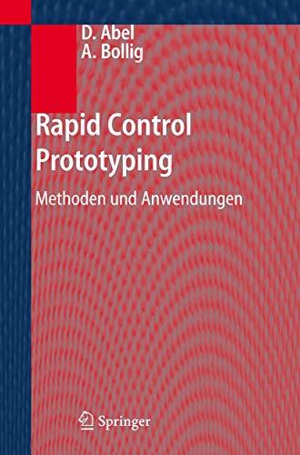 9783540295242: Rapid Control Prototyping: Methoden und Anwendungen