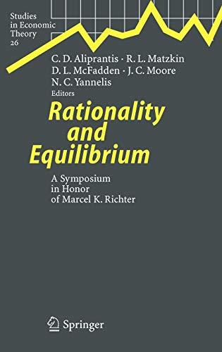 Rationality and Equilibrium: Charalambos D. Aliprantis