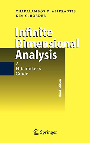 9783540295860: Infinite Dimensional Analysis: A Hitchhiker's Guide