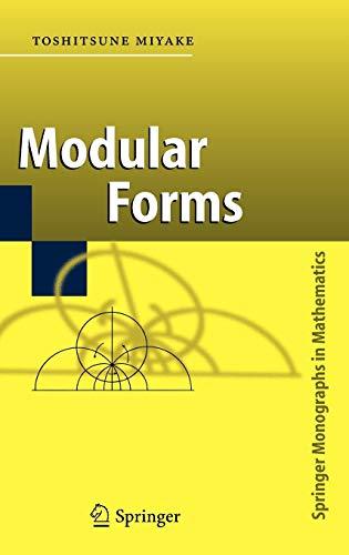 9783540295921: Modular Forms
