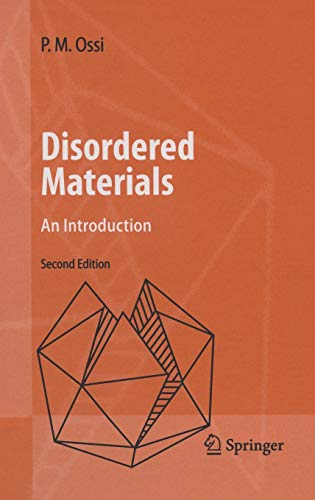 9783540296096: Disordered Materials: An Introduction (Advanced Texts in Physics)
