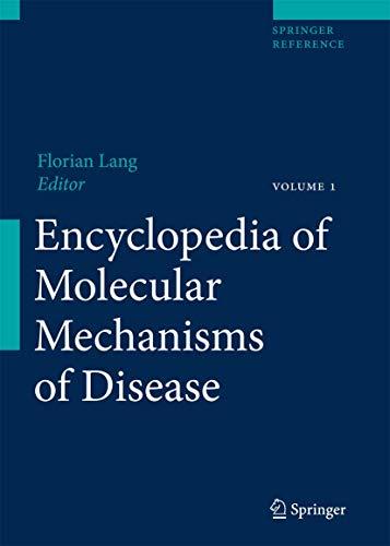 9783540296768: Encyclopedia of Molecular Mechanisms of Diseases
