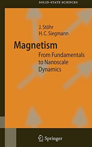 Magnetism: Joachim Stöhr