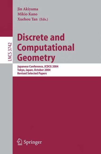 Discrete and Computational Geometry: Jin Akiyama