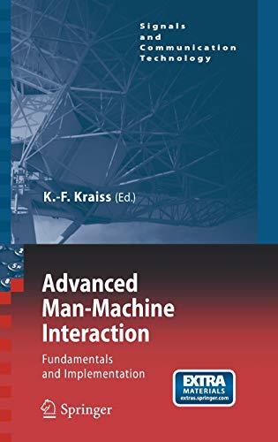 Advanced Man-Machine Interaction: Karl-Friedrich Kraiss