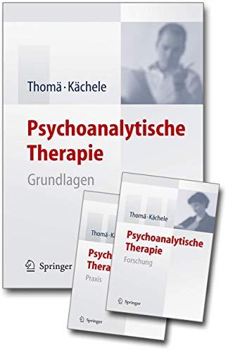 Psychoanalytische Therapie: Set: Grundlagen, Praxis, Forschung: Thom�, Helmut; K�chele, Horst