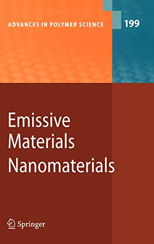 9783540312505: Emissive Materials - Nanomaterials (Advances in Polymer Science)