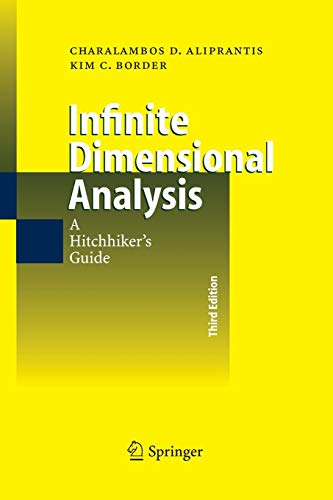 9783540326960: Infinite Dimensional Analysis: A Hitchhiker's Guide