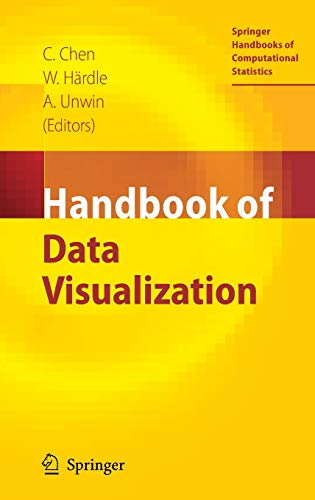 9783540330363: Handbook of Data Visualization (Springer Handbooks of Computational Statistics)