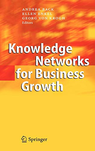 Knowledge Networks for Business Growth : New: Andrea Back