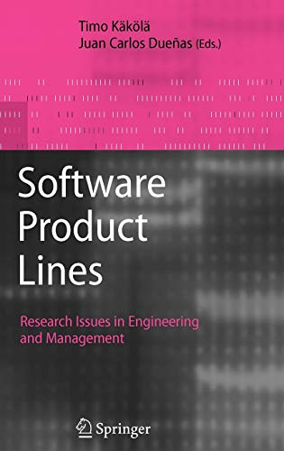 9783540332527: Software Product Lines: Research Issues in Engineering and Management