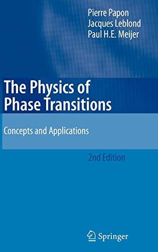 9783540333890: The Physics of Phase Transitions: Concepts and Applications (Advanced Texts in Physics)