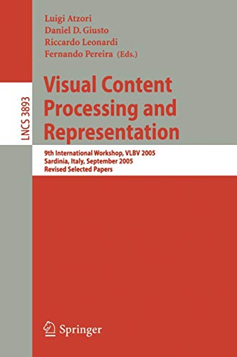 Visual Content Processing and Representation: 9th International