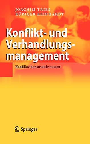 9783540340393: Konflikt- und Verhandlungsmanagement: Konflikte konstruktiv nutzen (German Edition)