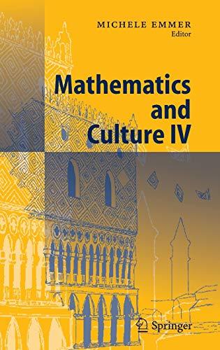Mathematics And Culture Iv: Emmer,M.