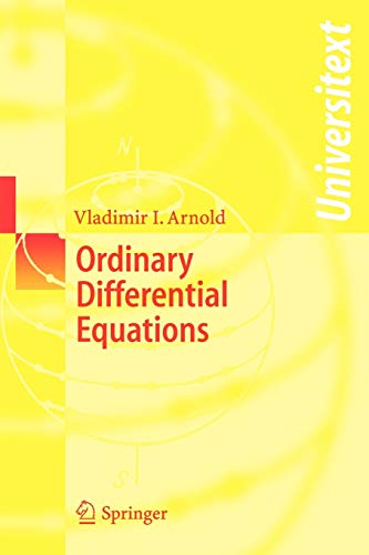 9783540345633: Ordinary Differential Equations (Universitext)