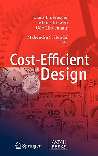 9783540346470: Cost-Efficient Design