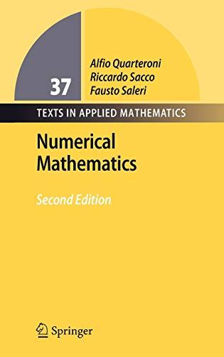 9783540346586: Numerical Mathematics (Texts in Applied Mathematics)