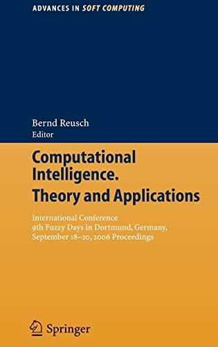 Computational Intelligence, Theory and Applications: International Conference 9th Fuzzy Days in ...