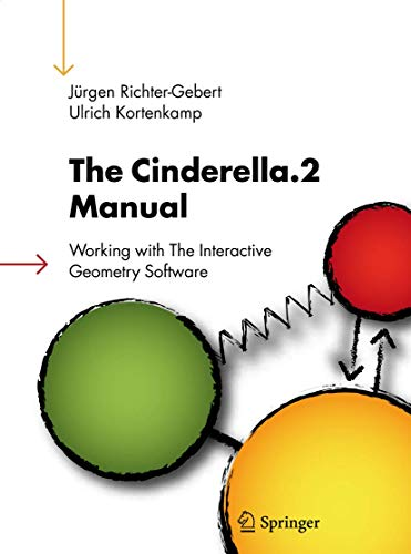 9783540349242: The Cinderella.2 Manual: Working with The Interactive Geometry Software