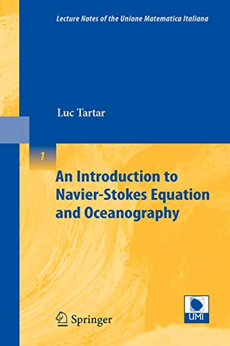 An Introduction to Navier-Stokes Equation and Oceanography: LUC TARTAR