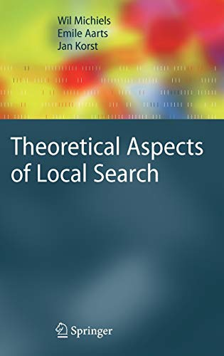 9783540358534: Theoretical Aspects of Local Search (Monographs in Theoretical Computer Science. An EATCS Series)