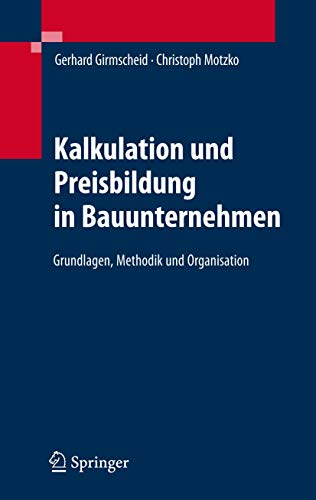 angebots und projektkalkulation leitfaden fr praktiker vdibuch german edition