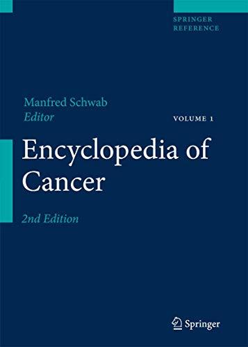 Encyclopedia of Cancer (4 Volume Set): Springer