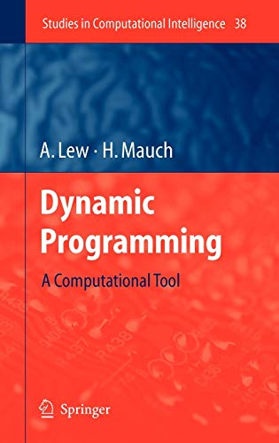 9783540370130: Dynamic Programming: A Computational Tool (Studies in Computational Intelligence)