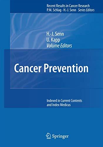 Cancer Prevention: Hans-Jorg Senn