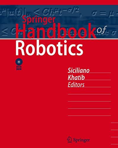 9783540382195: Springer Handbook of Robotics
