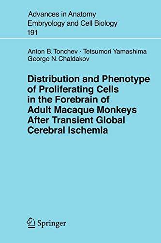 Distribution And Phenotype Of Proliferating Cells In: Anton B. Tonchev,