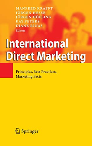 9783540396314: International Direct Marketing: Principles, Best Practices, Marketing Facts