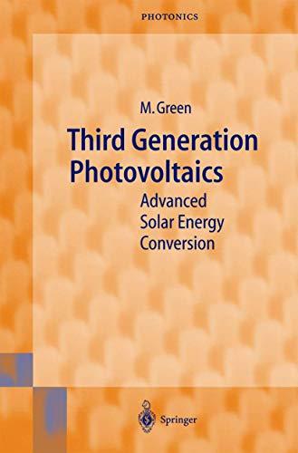 9783540401377: Third Generation Photovoltaics: Advanced Solar Energy Conversion (Springer Series in Photonics)