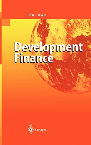 9783540401537: Development Finance