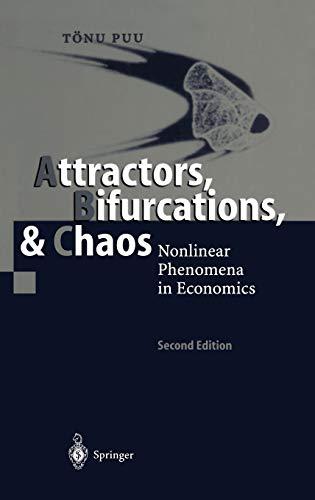 9783540402268: Attractors, Bifurcations, & Chaos: Nonlinear Phenomena in Economics