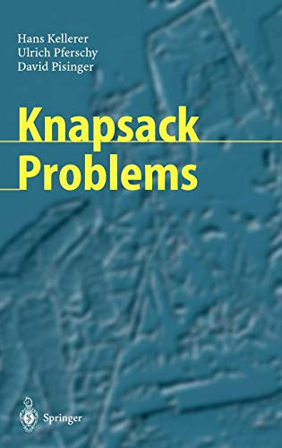 Knapsack Problems: Hans Kellerer