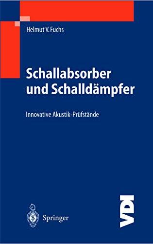 9783540403302: Schallabsorber und Schalldampfer