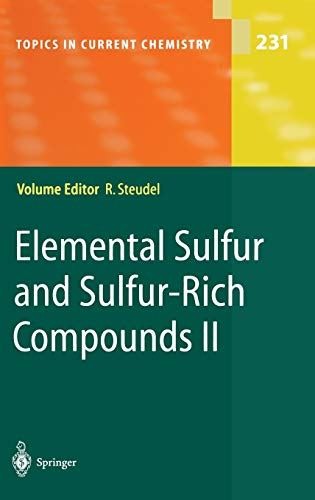 9783540403784: Elemental Sulfur and Sulfur-Rich Compounds II (Topics in Current Chemistry) (Pt. 2)