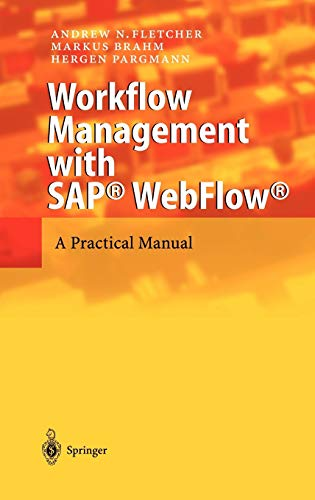 9783540404033: Workflow Management with SAP® WebFlow®: A Practical Manual