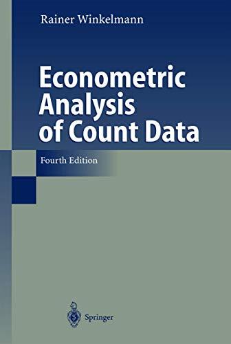 Econometric Analysis of Count Data: Rainer Winkelmann