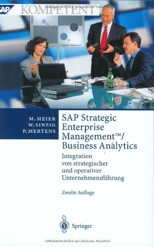 9783540406815: SAP Strategic Enterprise Management™/Business Analytics: Integration von strategischer und operativer Unternehmensführung (SAP Kompetent)
