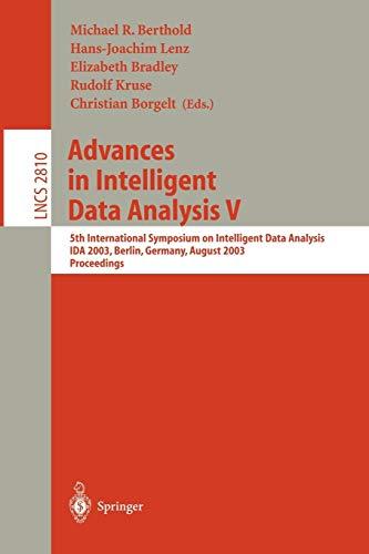 Advances in Intelligent Data Analysis V: 5th: Berthold, Michael R.