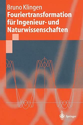 9783540410959: Fouriertransformation für Ingenieur- und Naturwissenschaften (Springer-Lehrbuch) (German Edition)