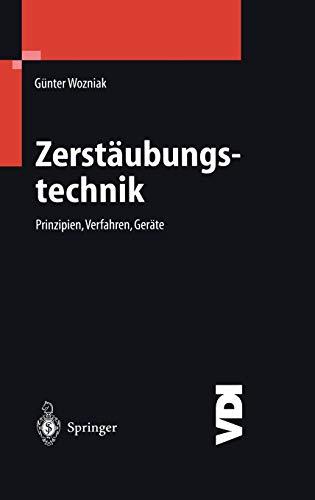 Zerst Ubungstechnik: Prinzipien, Verfahren, Ger Te: Günter Wozniak