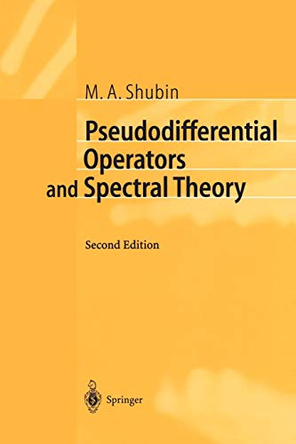 9783540411956: Pseudodifferential Operators and Spectral Theory (Springer Series in Soviet Mathematics)