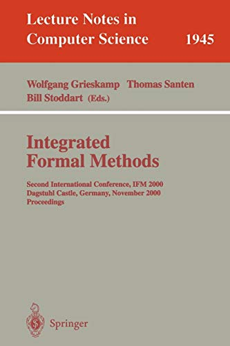 Integrated Formal Methods: Second International Conference, Ifm: Wolfgang Grieskamp, Thomas